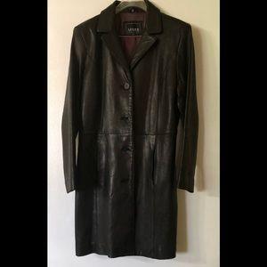 Adler Leather Jacket Coat Large PL N-Z Lamb